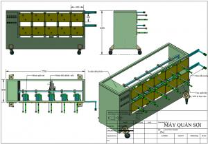 Chế tạo máy nghành vải ngành sợi